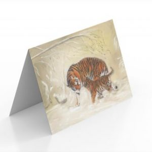 Tiger Cards (Pack of 16)